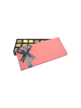 Black Ribbon Red Chocolate Gift Pack